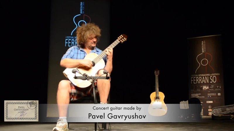 Zoran Dukic plays Pavel Gavryushov's guitar 0 mp4