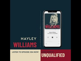 Listen to a conversation between Hayley and Anna Faris