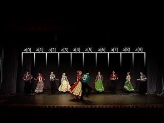 Алгоритмы сортировки в танцах [3] Сортировка выбором как цыганский народный танец