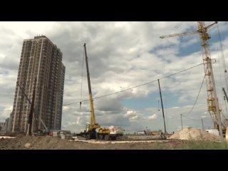 Губернатор проинспектировал строительство новой школы в Кальном