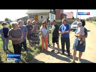 В поселке Ключи Омского района устраняют последствия масштабной коммунальной аварии
