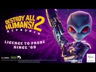 КБГ против пришельца. В сеть утек первый трейлер Destroy All Humans! 2