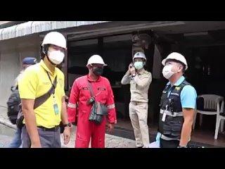Последствия пожара на Волкин Стрит. Паттайя. Таиланд.