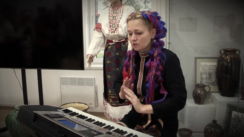 Marja Üldine Выступление в ижорском музее 23 08 2021