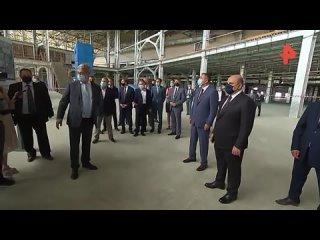 Мишустин осмотрел строящийся комплекс аэропорта в Южно-Сахалинске