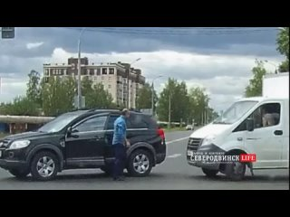 Легкое курьезное ДТП в Северодвинске