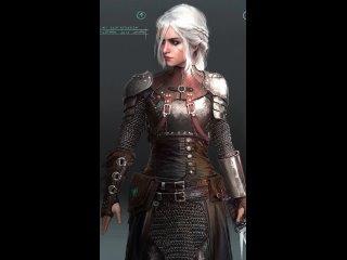 Фанат показал созданную в реальности броню Школы Медведя для Цири из The Witcher 3, в игре вариант этой брони отсутствует