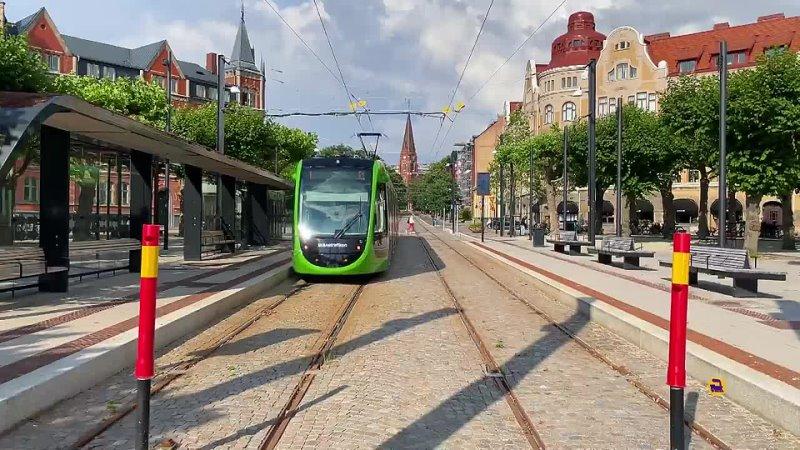 Трамвай которому сопротивлялись Лунд Швеция