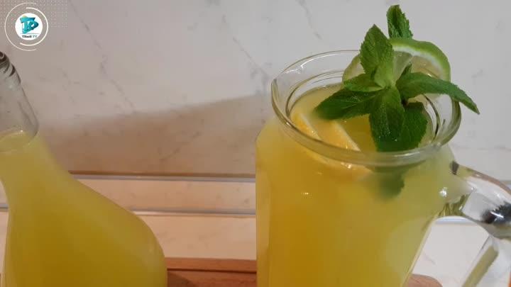 3 литра лимонада из 1 лимона и 1 апельсина - Турецкий Лимонад - Рецепт