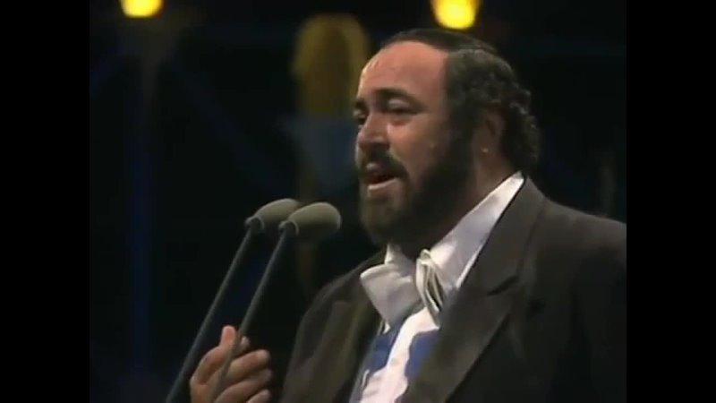 Юбилейный концерт Лучано Паваротти в Гайд парке 1991