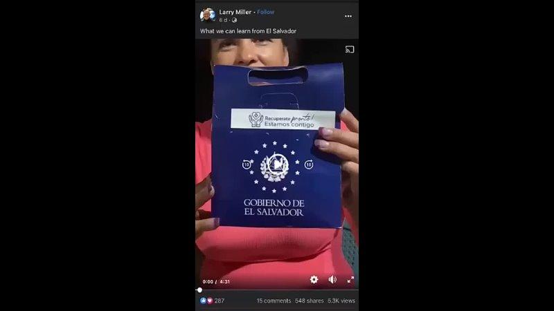 ElSalvador verschenkt Ivermectin statt Corona Impfung