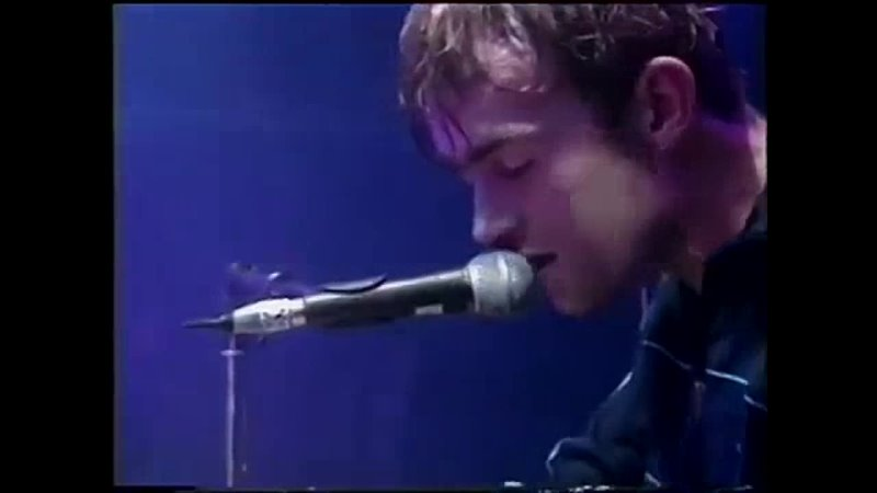 Blur This Is A Low Outro Showtime Original 1995 VHS Live at Alexandra Palace 7 October 1994