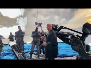 Видео: Дуэйн Джонсон объявил о завершении съемок «Черного Адама»