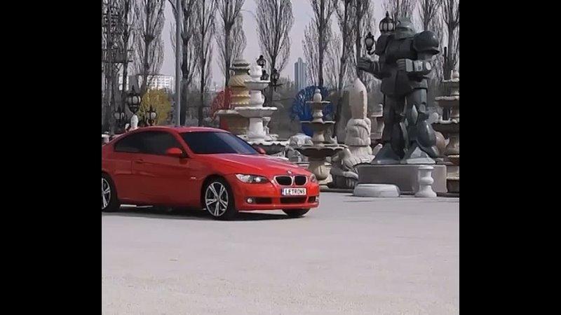 BMW E92 автобот трансформер уже на земле Оптимус Прайм мог бы гордиться