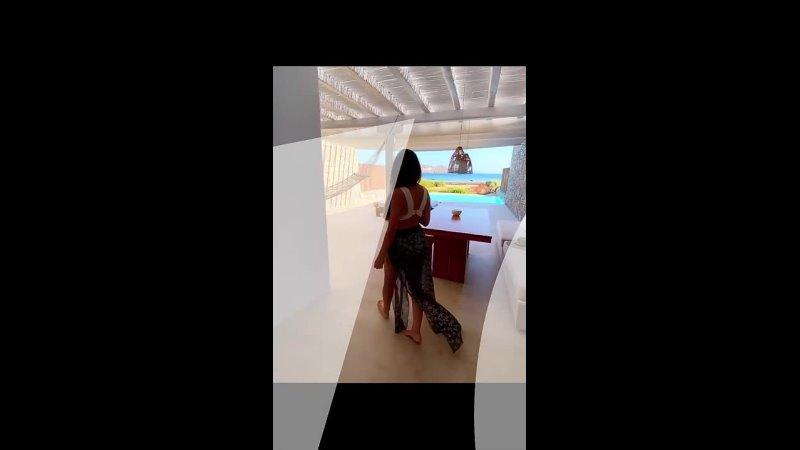 🇬🇷 Отель Bill Coo Coast Suites расположен прямо на пляже Агиос Иоаннис на острове Миконос в Греции Как Вам вид 🎵 Damma Be