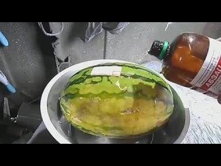 😒Помните смертельную историю про арбуз?  🤢Так вот,...