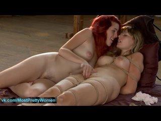 Amar_na Mill_er & Charlo_tte V, hot lesbian bondage