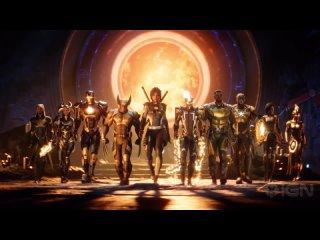 Первый геймплей Marvel's Midnight Suns — ролевого экшена с Росомахой, Железным человеком и другими супергероями.