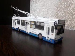 🚎💥 Модель реального Владимирского троллейбуса № 24...