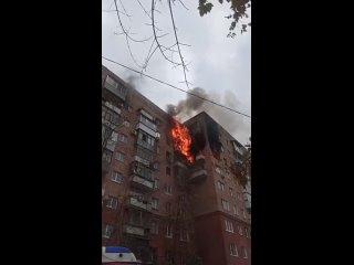 ⚡Прямо сейчас в Самаре пожар на ул. Ново-садовой, ...