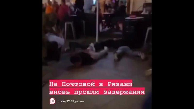 👮♀️ Поздним вечером в пятницу 23 июля силовики задержали людей на улице Почтовой Видео опубликовал Telegram канал Усы Курак