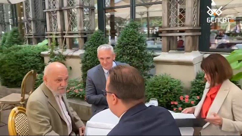 Тихановская встретилась в Нью Йорке с директором по делам Евразии и России Американского еврейского комитета AJC