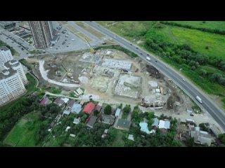 Строительство новой школы в Кальном