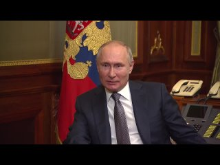 Владимир Путин ответил на вопросы о статье «Об историческом единстве русских и украинцев»