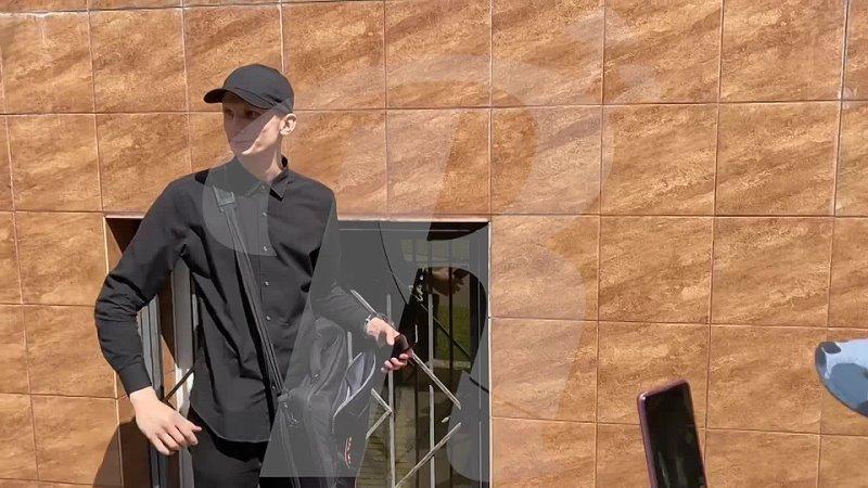 Акция московских нацболов у здания Минюста