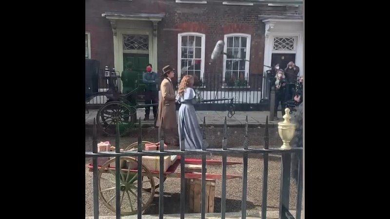Энола Холмс 2 Съёмки