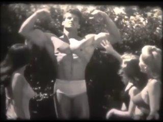 Раритетное видео Стива Ривза. Конец 40х или начала 50х