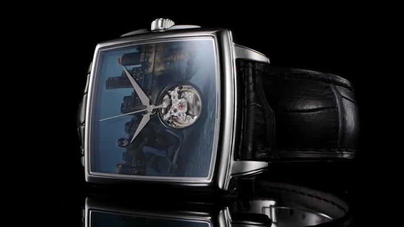 Швейцарские мужские часы L'Duchen Night City Art Collection