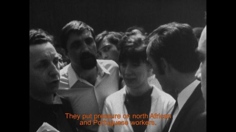 La reprise du travail aux usines Wonder Resumption of work at the Wonder factory 1968