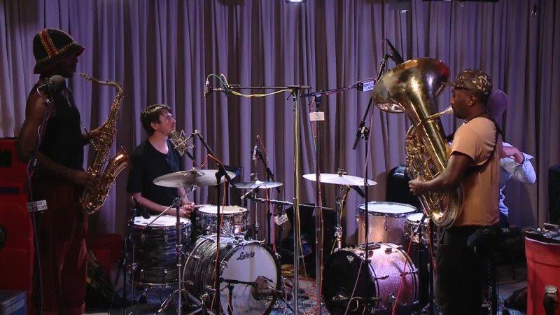 05 Live In Studio Sons of Kemet My Queen is Angela Davis