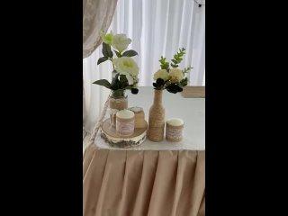 Видео от Эль Декор - оформление свадеб, регистраций