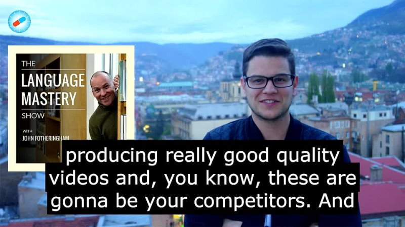 """Dutch polyglot Jan van der Aa on How to Monetize Your Love of Languages as a Langpreneur"""" The Language Mastery Show"""