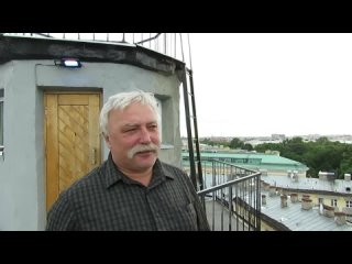Крышы и мансарды Петербурга.