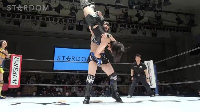 Stardom 07 25 2021 Hina and Hanan vs Oedo Tai Rina and Ruaka