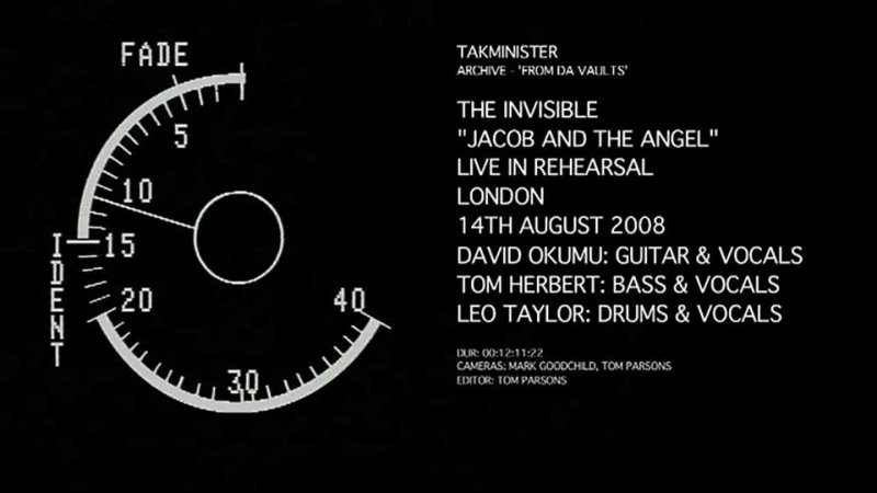 08 The Invisible 'Jacob and the Angel' LIVE IN REHEARSAL 2008