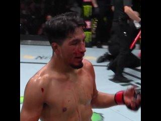 UFC Вегас 32: Адриан Янез побеждает техническим нокаутом