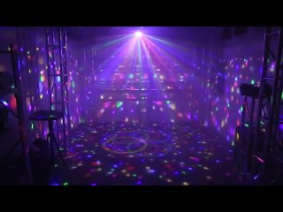 RGB Рождественский лазерный дискошар, сценическое освещение,