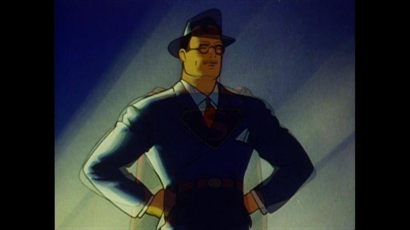 Супермен Superman 1941 1943 Серии 9 17 VHS