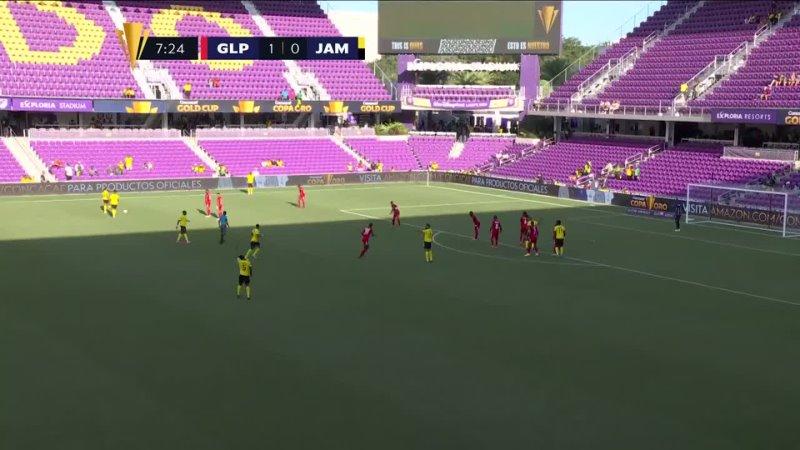 Гваделупа Ямайка Золотой кубок КОНКАКАФ 2021 2 тур