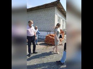 Ремонт в детском саду поселка Октябрьский