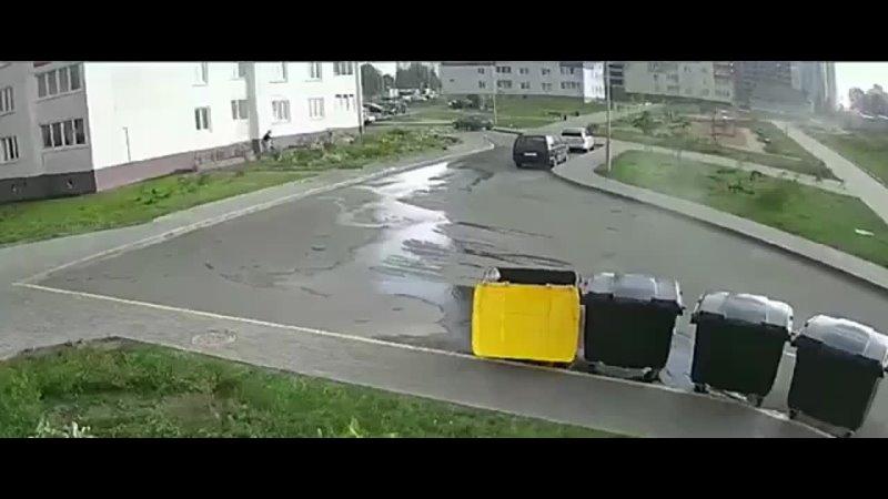 Моцны вецер у Менску