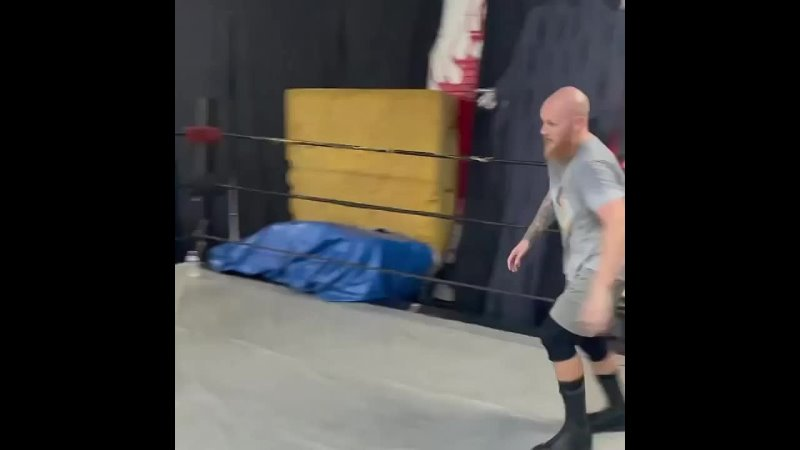 I took my kids to the gym where I've trained for professional wrestlin