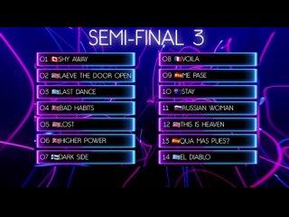 Summer Song 2021 3 Semi-Final Recap