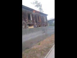 Пожар в Ленинском районе, Трамвайный пер 19...