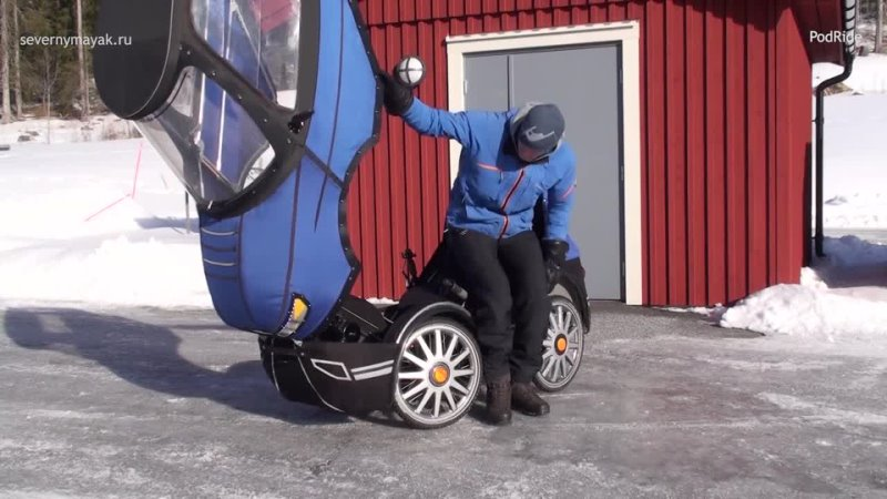Как машинка мистера Бина только с педалями Веломобиль от шведов