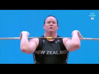 😳 А вот и выступление тяжелоатлета-трансгендера на Олимпиаде 2021